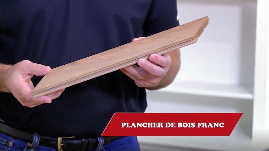 Sablage de plancher bois franc