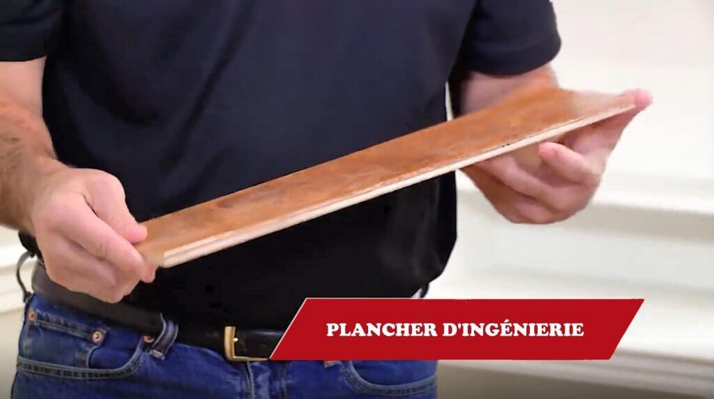 Installation de plancher d'ingénierie