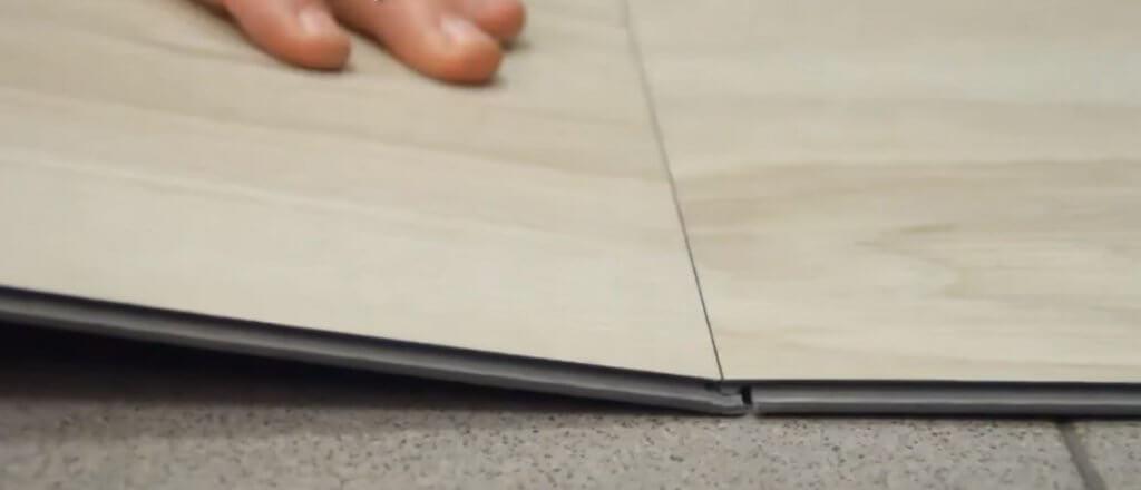 Réparation plancher de vinyle LVT