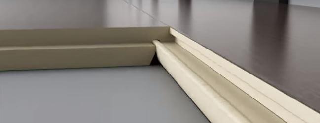 Réparation de plancher laminé